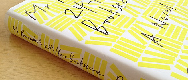 Image result for mr penumbra's 24-hour bookstore